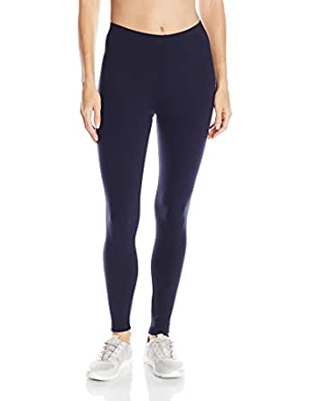 Danskin Women's Classic Supplex Body Fit Ankle Legging, Midnight Navy, X-Small
