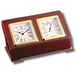 Newport TIme & Weather Clock/Thermometer # 73035