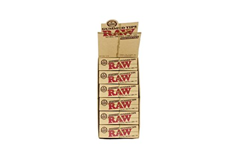 Raw Perforated Gummed Tips by Raw Threads