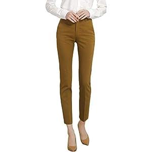 Marycrafts Women's Work Ankle Dress Pants Trousers Slacks 27