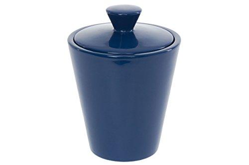 (Savinelli Blue Ceramic Tobacco Jar)