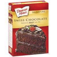 Case of Duncan Hines Signature Swiss Chocolate Cake Mix (12 Total)