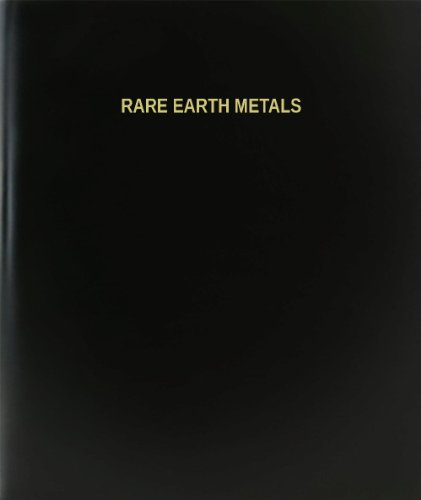 BookFactory® Rare Earth Metals Log Book / Journal / Logbook - 120 Page, 8.5