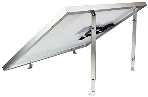 Solar Panel Adjustable Tilt Mount for Rv's, Roof and Ground Mounting (No Solar (Roof Solar System)