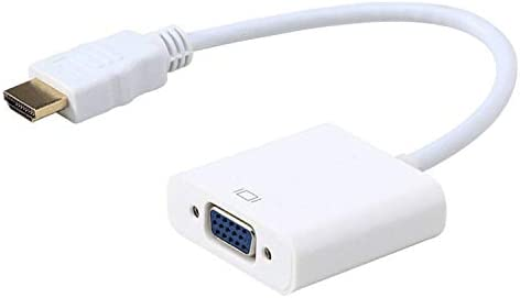 Moread HDMI to VGA Gold-Plated HDMI to VGA Adapter Male to Female for Computer