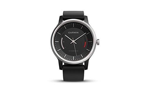 Garmin vvomove - Wrist Accelerometer - Steps Taken, Quality, Traveled Bluetooth - 0.79 - Black - Case Running - Water Resistant