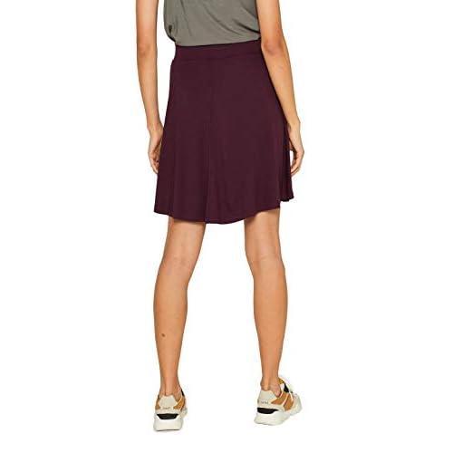 online store 87574 4749f ESPRIT Damen Rock Rot Bordeaux Red 600 AXrrbF0D gute ...