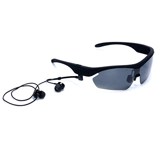 Gonbes K2 Smart Touch Bluetooth 4.0 Sunglasses Stereo Music Headphone Polarized Glasses for Travel, Cycling,fishing with Handsfree Support for Iphone 6 5s 5c Samsung Galaxy Note S2 S3 S4,cellphones - Sunglasses Iphone 6 Polarized