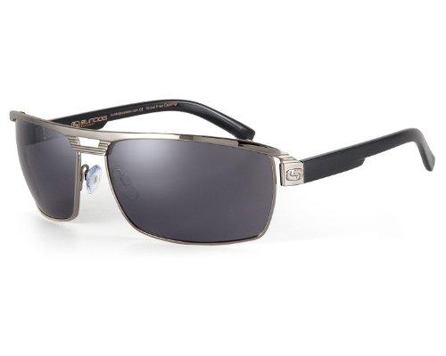 Sundog Eyewear Fluid Sunglass, Smoke, - Sunglasses Mens Sundog