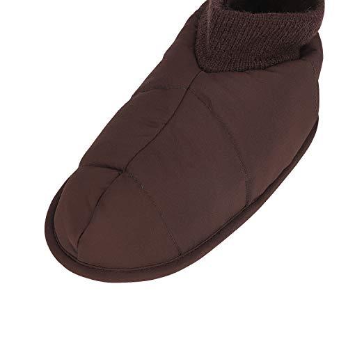 Chaud Pantoufle en Chaleureux D'intérieu Peluche YJZQ Pantoufles Chaussures Gris Femme Doux Antidérapante Imperméables Chaussures Confortable Chaussons Chausson AwqUwg0I