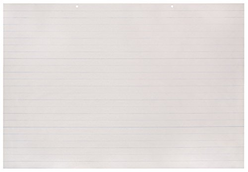 School Smart Primary Chart Paper Pads - Ruled Long Way - 36 x 24 - Pack of 100 Sheets ()