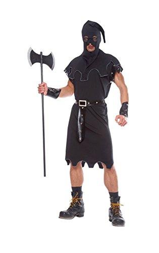 Costume Culture Men's Executioner Costume Extra Large, Black, X-Large