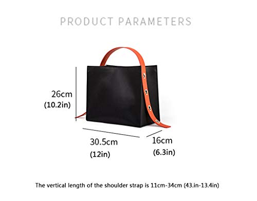 Bag Versatile Leather Personality Ol Tide Of Tote Group Large Capacity Simple Handbag Small Commuter TIwdqxZ