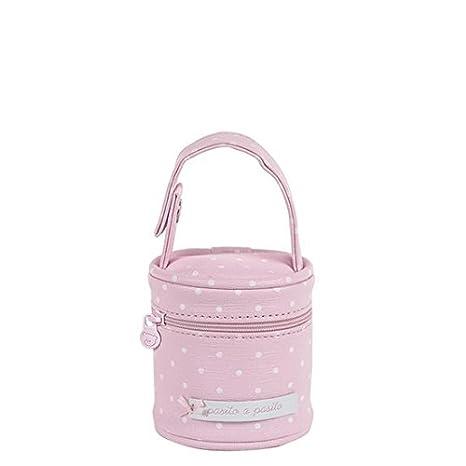 Pasito a pasito Atelier - Funda para chupete, color rosa: Amazon.es ...