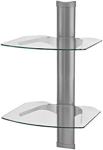 OmniMount Tria 2 - Soporte de pared para pantalla plana (13.6 kg, 445 mm, 419 mm, 826 mm, 445 x 419 x 826 mm, Pared), color: Silver