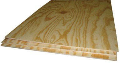 "Thunderbird Forest Plywood Bc 1/4 "" X 2 ' X 4 ' Pine Sanded"