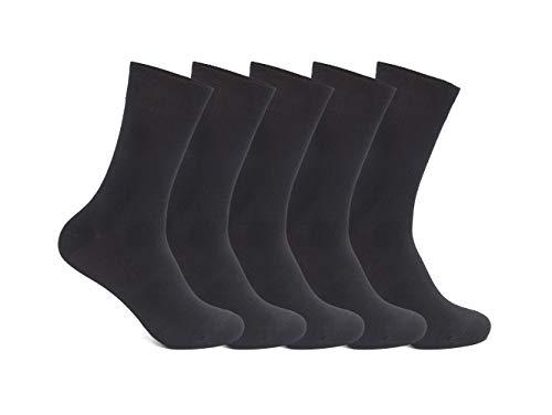 FOOTNOTE Hochwertige Socken Herren & Damen (5-10 Paar) Hoher Baumwollanteil Lange Haltbarkeit & Beste Qualität Ohne Fusseln