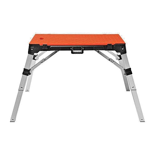 4 in 1 Multi-Function Portable Folding Work Bench-Workbench/Scaffold Platform/Creeper Carrier/Hand...