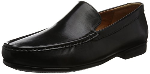 Clarks Claude Nero Uomo Plain black Mocassini Leather wSqwp1