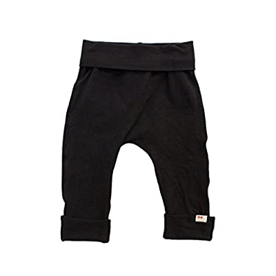 Black Organic Boys Pants | New Baby Gifts for Eco Parents | Ethical Kids Clothes