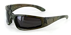 """Camo Spex"" Polarized Camouflage Sports Goggles for Active Men and Women"