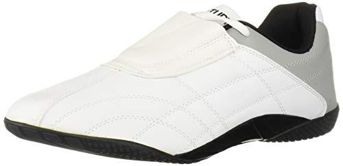 Century Lightfoot Martial Arts Shoes, White, Size 4.5