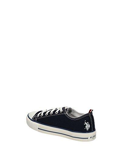 Scarpe Uomo U.S Polo Assn. Sneakers Blu Tela AM830 Barato Precio Al Por Mayor En Línea s7IU4kzosw