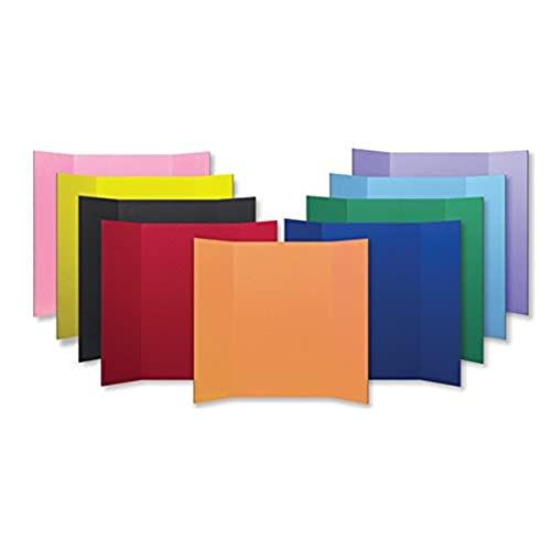 Flipside Products 30045 Project Display Board, 9 Color Assortment, Assorted Color (Pack of 24)