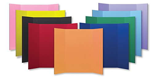 Flipside Products 30045 Project Display Board, 9 Color Assortment, Assorted Color (Pack of 24) by Flipside Products