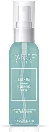 L'ange Hair Salt & Sea Texturizing Spray for Fuller Hair. 4 oz