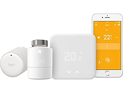 Tado – Kit _ Home – Termostato con 2 cabezales thermostatiques conectados (