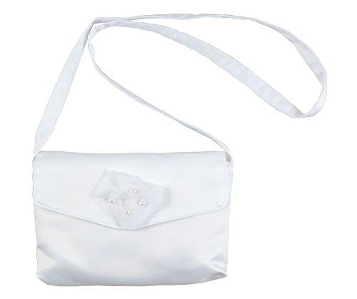 Schöne Tasche Kommuniontasche Perlen Röschen