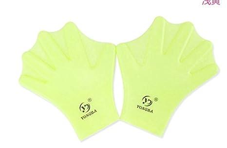 elegantstunning Adults//Children /& Kids Swimming Webbed Gloves Diving Full-Finger Paddling Hand Palm Swim Training Fins Glove