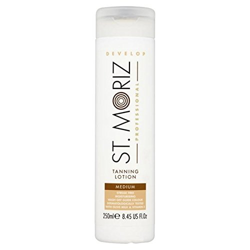 St. Moriz Professional Self Tan Lotion Medium 250ml (PACK OF 6)