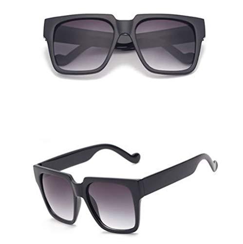 polyvalentes colorées de E lunettes de boîte Lunettes soleil unisexe NIFG grande soleil rétro 7Avwx8na