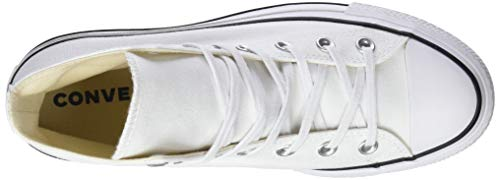 White Bianco Black a Lift Converse Alto Sneaker Adulto White White Black Ctas Collo – Unisex 102 Hi qH4pZ