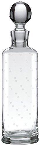Kate Spade New York Larabee Dot Crystal Decanter, Non-Leaded