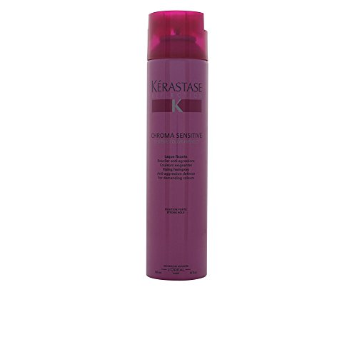 Kerastase Sensitive Fixing Hairspray, Reflection Chroma, 10 Ounce