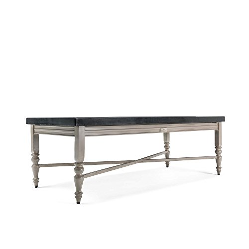 Natural Stone Patio (Blue Oak Outdoor Saylor Patio Furniture Natural Stone Top Coffee Table)
