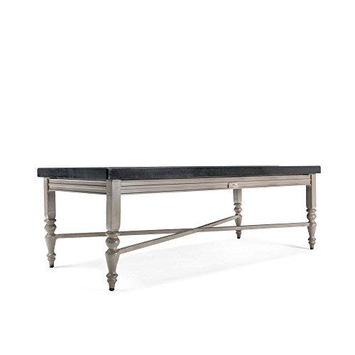(Blue Oak Outdoor Saylor Patio Furniture Aluminum Top Coffee Table)