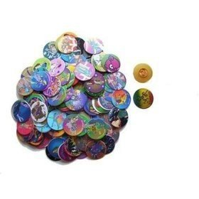 1000 Assorted Pogs Poggs Milkcaps with 30 Slammers