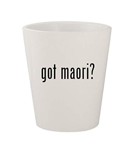 got maori? - Ceramic White 1.5oz Shot Glass