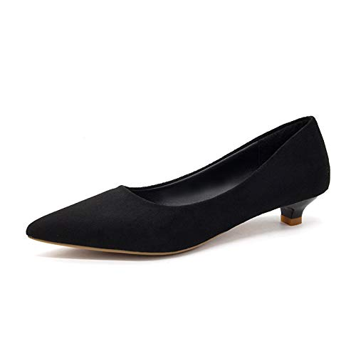 With Female 3Cm Autumn Shoes Black High Fairy Bridesmaid With With Heels Yukun Single And Nude Fine Small Cat Shoes Tacchi Low alti Pointed TxXOpIYq