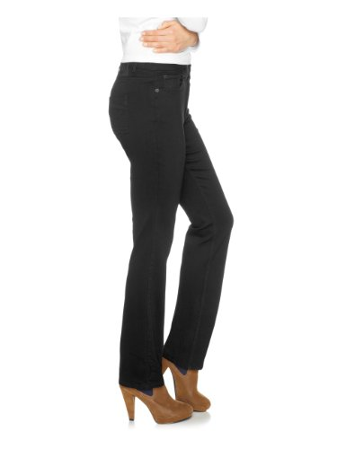 schwarz Skinny Jeans Black deep Fit His Nero Donna BXqnwp