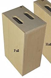 Advantage Gripware Apple Box Posing Prop, Full Apple Box 12 x 20 x 8 inches