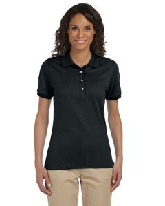 Jerzees womens 5.6 oz. 50/50 Jersey Polo with - Top Womens Polo