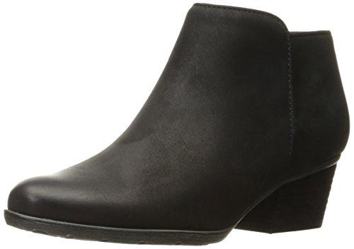 - Blondo Women's Villa Waterproof Ankle Boot, Black Suede, 9 W US