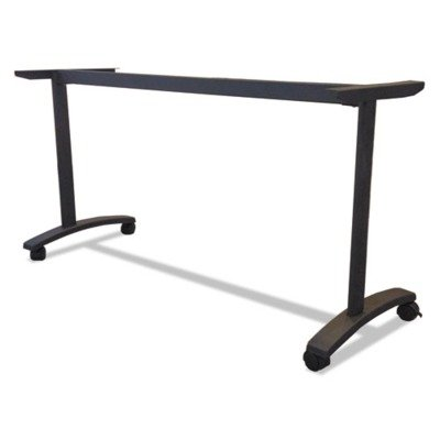** Valencia Series Training Table T-Leg Base, 58w x 19-3/4d, Black by COU