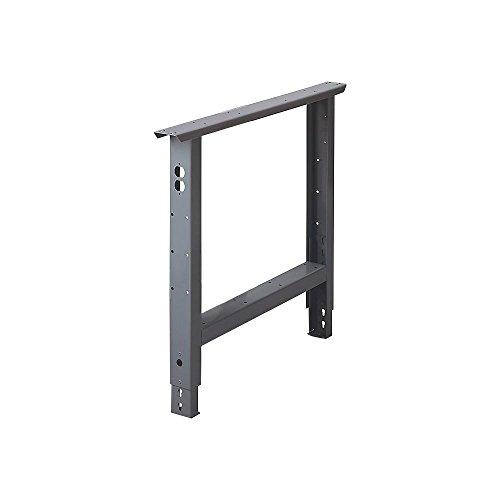 EDSAL ABL30CHT Industrial-Duty Adjustable Height Bench Leg, 30
