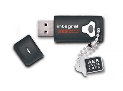 Integral® 32GB Crypto Drive - FIPS 197 Encrypted USB (Crypto Usb)